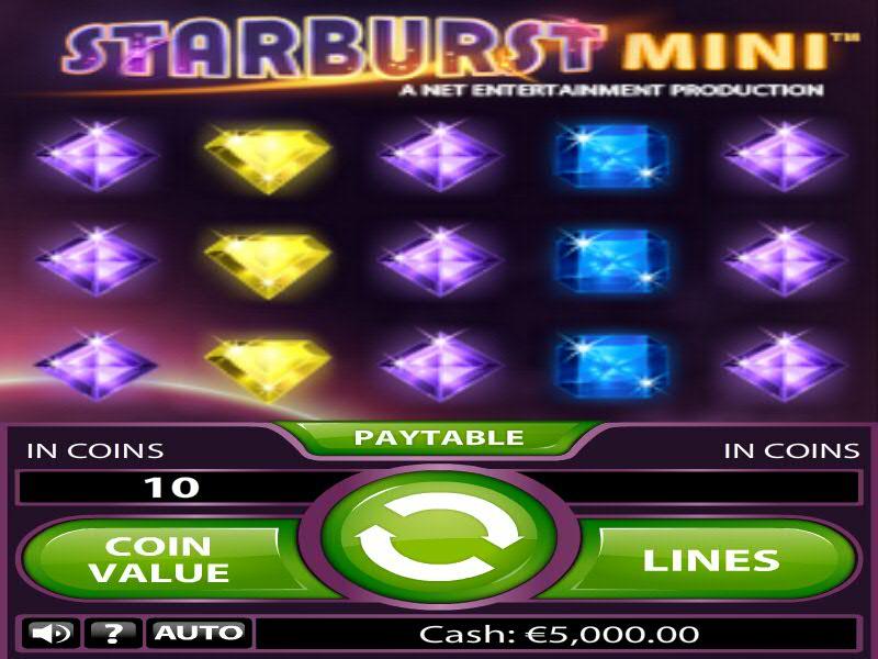 Starburst-Mini-Slot-Game